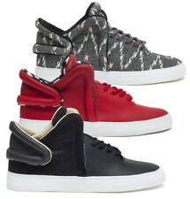 SUPRA FAUCON ROUGE MULTI BLANC NOIR HOMME BASKETS CHAUSSURES HOMME chaussures
