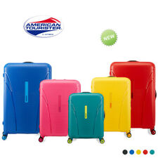 American Tourister Skytracer Range 4 Wheel Solid Spinner Suitcase Lugggage