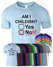 Am I Childish Smiley Kids T-Shirt Game Of Thrones Funny Rude Joke Nob T Shirt