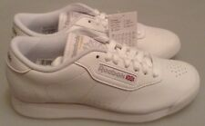 REEBOK PRINCESS TRAINERS - WHITE - J95362 - BRAND NEW IN THE BOX - SIZES 4 TO 9