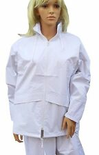 Cathedral duraproof Giacca Ladies 100% IMPERMEABILE NON FODERATO bianco bocce