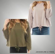 New Ladies Branded Jacqueline De Yong Stylish Cropped Sweater Top Size UK 8-14