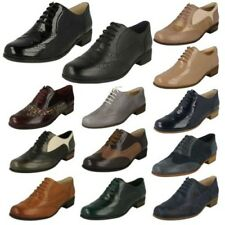 Mujer Clarks Zapatos Oxford Zapatos Formales Hamble Roble