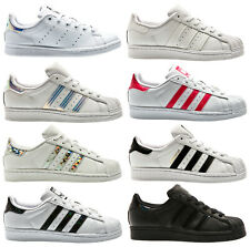 a0eed7a9a8a1 Adidas Superstar Velcro Iridescent White Silver Kids Childrens Girls ...