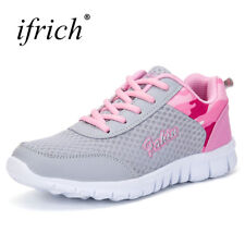 Ifrich New Arrival Sport Shoes Female Mesh Breathable Ladies Running Lace Up