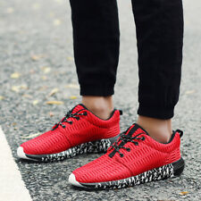 DQG Big Size Men's Running Shoes Breathable Mesh Male Light Running Sports