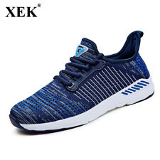XEK 2018 New Air Mesh Running Sneakers For Men Male Outdoor Breathable