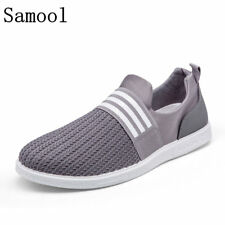 2017 New Arrival Autumn Breathable Mesh Shoes Mens Casual Shoes Slip On Brand