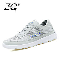 ZOQI Men Shoes 2017 Summer Sneakers Breathable Casual Shoes Fashion Comfortable