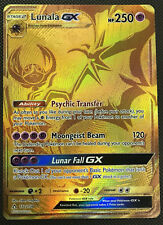 Pokemon SM - Ultra Prism Lunala GX (Secret Rare) 172/156 Secret Rare Card