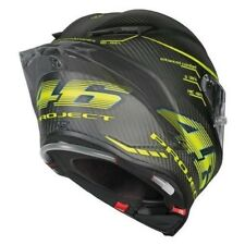 VR46 Vale SPECIAL EDITION PROJECT 46 2.0 AGV PISTA GP R ORO CARBON CASCO