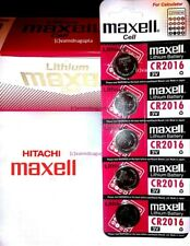 100% Authentic Hitachi Maxell CR2016 3V Lithium Button Coin Cell Battery