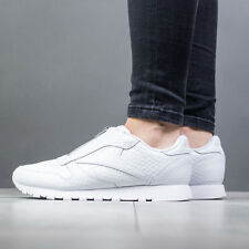 SCARPE DONNA SNEAKERS REEBOK CLASSIC LEATHER ZIP [CM9795]