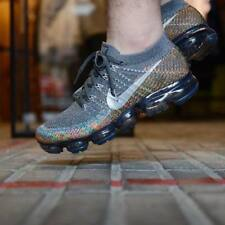 NIKE AIR VAPORMAX FLYKNIT GREY, REFLECT SILVER & ORBIT TRAINERS ALL SIZES