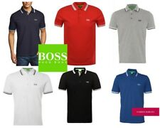 Summer SALE ! Hugo Boss Short Sleeve Paddy Polo Shirt Top for Men Regular Fit