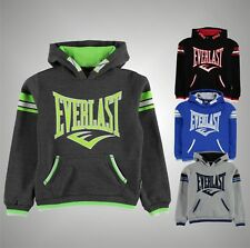 Junior Boys Stylish Long Sleeves Large Logo OTH Hoody Top Size Age 7-13