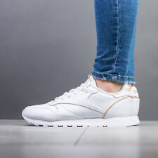 SCARPE DONNA SNEAKERS REEBOK CLASSIC LEATHER HW [BS9878]