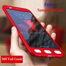 360° Shockproof Slim Hard PC + Tempered Glass Case Cover For Xiaomi Mi A1 5X