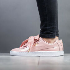 SCARPE DONNA SNEAKERS PUMA BASKET HEART PATENT [363073 11]