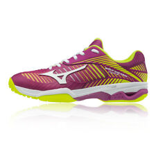 Mizuno Womens Wave Exceed Tour 3 All Court Tennis Shoes Purple Sports Breathable