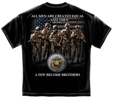 Marine Corps, USMC T-Shirt Usmc Brotherhood Black