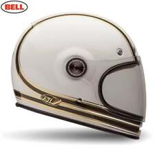 Bell Crusier BULLITT CARBONE adulte moto casque - CARBONE RSD Mojo Blanc/Or
