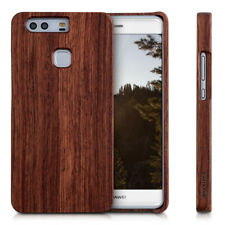 kwmobile CUSTODIA RIGIDA LEGNO PER HUAWEI P9 PLUS VERO NATURALE COVER