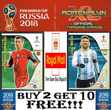 PANINI WORLD CUP 2018 Adrenalyn XL ☆ Team Mate ☆ Football Cards #181-360