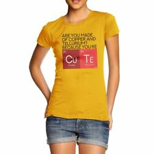 Novelty T Shirt Christmas Are You Made Of Copper And Tellurium? Women's T-Shirt