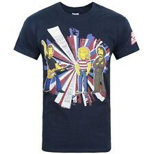 THE WHO - SIMPSONS A Tale of SPRINGFIELDS T-SHIRT - NUOVO & Ufficiale in