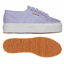 SUPERGA 2790 zeppa 4cm Scarpe DONNA 2790ACOTW LINEA UP AND DOWN Acotw Lilla 520p