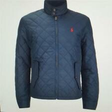 polo ralph lauren mens new barracuda quilted jacket coat aviator navy