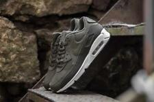 NIKE AIR MAX 90 ESSENTIAL - SEQUOIA, CARGO KHAKI & WHITE TRAINERS IN ALL SIZES