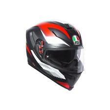 Casco Integrale AGV K5 S '18 MULTI MARBLE MATT BLACK | WHITE | RED