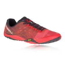 Merrell Mens Trail Glove 4 Running Shoes Trainers Sneakers Red Sports Breathable