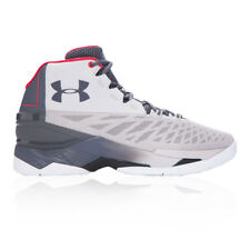 Under Armour Mens Longshot Basketball Shoes Grey Sports Breathable Lightweight