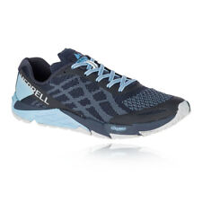 Merrell Mens Bare Access Flex E-Knit Trail Running Shoes Trainers Sneakers Blue