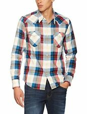 Levi's Jeans Barstow Western Casual Shirt,  Denim Multicoloured Hemp Cherry Bomb