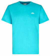 Weird Fish Mens Bones Logo Plain Backed T-Shirt - Ocean Blue Marl