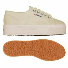 SUPERGA 2790 zeppa 4cm Scarpe DONNA ACOTW up and down Ecru Prv/Est 2790ACOTW 912