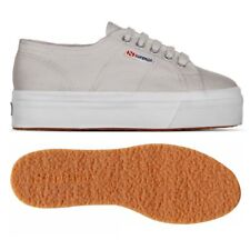 SUPERGA 2790 zeppa 4cm Scarpe DONNA 2790ACOTW LINEA UP AND DOWN acotw grigio G04
