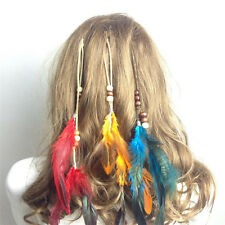 Coiffure Indian plumes ornements clip plumes gland cheveux morceau Ge