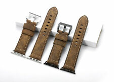 Replacement Leather Watch Wrist Strap Band for Apple Watch 38/42MM Series 1 2 3