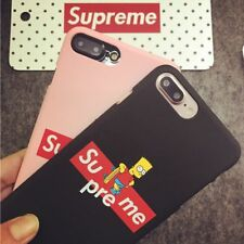 Cover Case Custodia Sottile iPhone 7  SUPREME colore nero