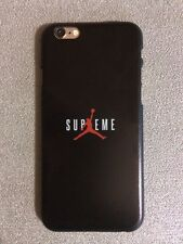 Cover Case Custodia Nera Sottile iPhone 6 - 6S Michael Jordan SUPREME NBA