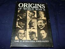 Avalon Hill 1971 - ORIGINS - Of WWII International Power Politics - 1935-39 game