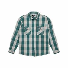 Brixton Hayes Flannel Shirt Mens Unisex Flannel New