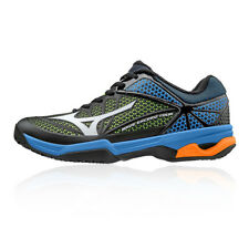Mizuno Mens Wave Exceed Tour 2 Clay Court Tennis Shoes Black Blue Sports