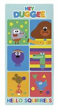 Kids Hey Duggee Hello Squirrels Towel Childrens Bath Swimming Towel 70x0.5x140cm