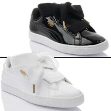NEW MODEL! Shoes Puma Basket Heart Patent Wn's Ladies Trainers Sneakers Lacquer